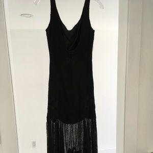 VTG Carmen Marc Valvo Black Dress, size 6